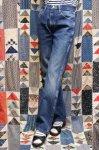 RUSTLER REGULAR FIT STRAIGHT LEG JEAN DENIM PANTS (BLE)