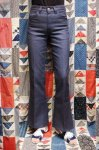 70'S Levi's STA-PREST BIG E FLARE PANTS (NVY)