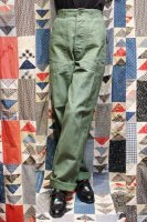 60'S('63) US ARMY COTTON SATEEN BAKER PANTS (OD)