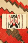 <img class='new_mark_img1' src='https://img.shop-pro.jp/img/new/icons43.gif' style='border:none;display:inline;margin:0px;padding:0px;width:auto;' />40'S〜 GANSCRAFT CHIMAYO PURSE WHIT BALL CHAIN (O.WHT/BLK/D.RED/D.BRN)