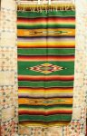 <img class='new_mark_img1' src='https://img.shop-pro.jp/img/new/icons43.gif' style='border:none;display:inline;margin:0px;padding:0px;width:auto;' />VINTAGE 40'S〜 MEXICAN SERAPE RUG RUNNER (GRN/RED/BRN/YLW/PNK/TQ/O.WHT)