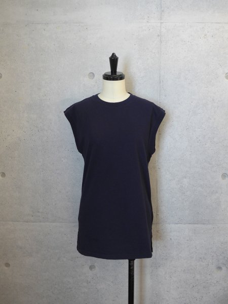 UNUSED SLEEVELESS TANKTOP COL.NAVY SIZE/00/0<img class='new_mark_img2' src='//img.shop-pro.jp/img/new/icons23.gif' style='border:none;display:inline;margin:0px;padding:0px;width:auto;' />