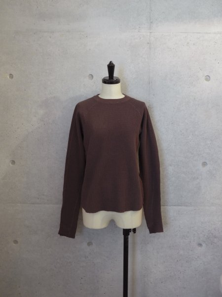 UNUSED THERMAL TOP COL.BROWN SIZE/00/0