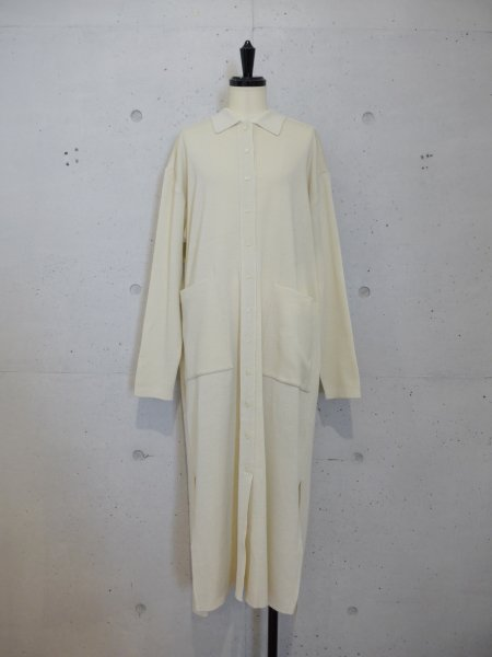TAN  LONG SHIRTS DRESS COL.IVORY<img class='new_mark_img2' src='//img.shop-pro.jp/img/new/icons23.gif' style='border:none;display:inline;margin:0px;padding:0px;width:auto;' />