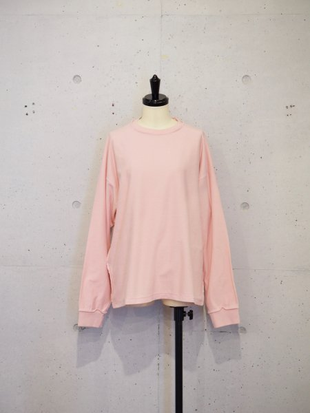 UNUSED LONG SLEEVE T COL.PINK SIZE/00/0