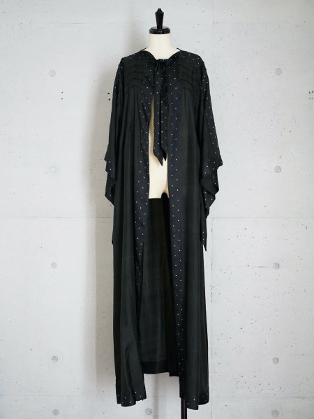 ANTIQUE SILK ROBE