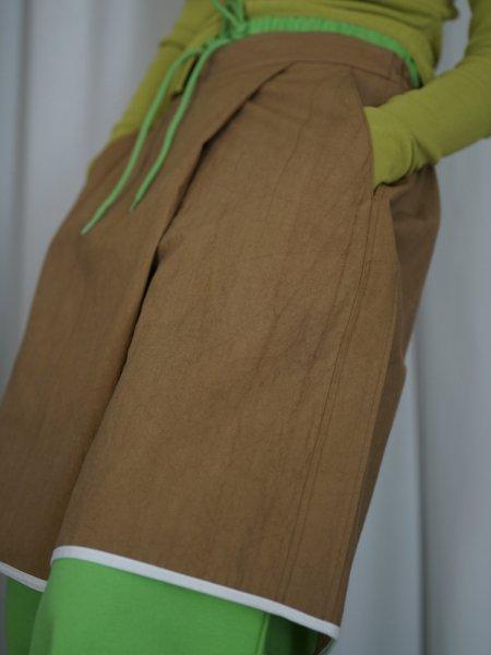yuumiARIA COTTON BOXER PANTS / BEIGE