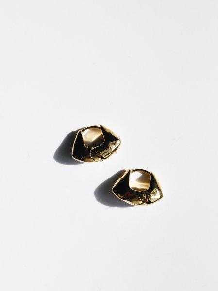 R.ALAGAN TINY BAUM HOOPS / GOLD