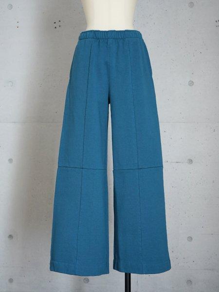 UNUSED SWEAT PANTS / GREEN BLUE