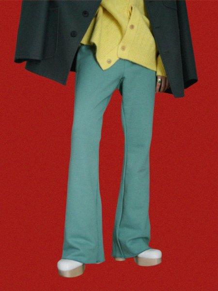 yuumiARIA SWEAT PANTS / GREEN