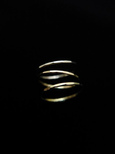Melissa Joy Manning Gold Stacking Rings COL.3col SIZE/1-13