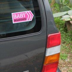 BABY BOARDING ステッカー