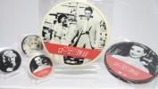 円形直径120mmの、CD型写真プリントチョコレート CDケース入り!!