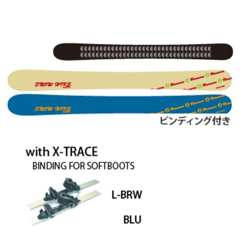 BLUEMORIS ブルーモリス SNOW HIKE  with X-TRACE Step sole