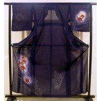 正絹男物羽織紐留金具付■未使用品