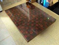 津軽塗の座卓テーブル