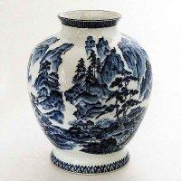 美濃焼龍峰作花瓶