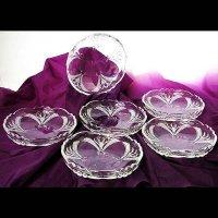 ガラス小皿6枚セット