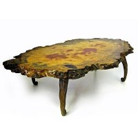 天然木一枚板無垢材テーブル