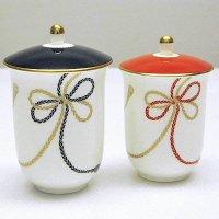 夫婦湯呑茶碗(蓋付)