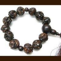 木彫・十二支・数珠