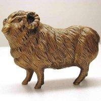 金属製・羊・置物