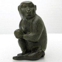 金属製・猿・置物