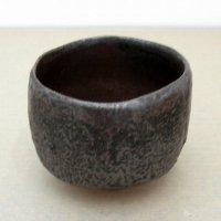 蔵田光憲・鉄釉・茶碗