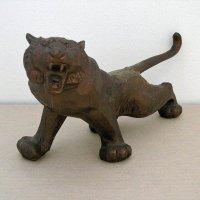 虎(トラ)・置物・金属製