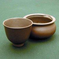 白梅・茶碗・茶こぼしセット