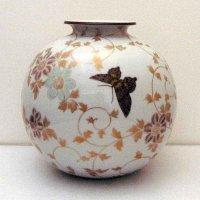 九谷焼・錦山・花瓶