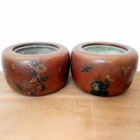 木製・火鉢・1個