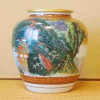 九谷焼・久栄・花瓶
