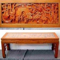 彫刻・テーブル