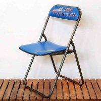 レトロ・パイプ椅子・フルタチュウインガム