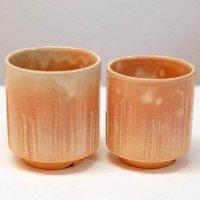 萩焼・萩城窯・夫婦茶碗