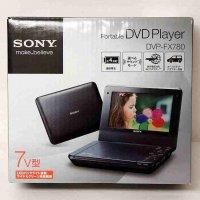 SONY・ポータブルDVDプレーヤー・DVP-FX780