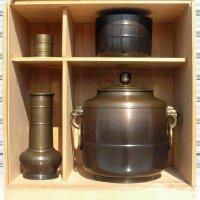 茅之作・唐銅・茶道具・皆具一式