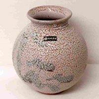 美濃古窯・桔梗屋窯・小三郎作・花瓶