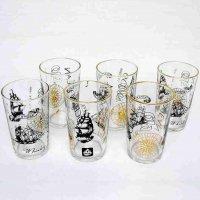 オーシャンウイスキー・グラス6個セット