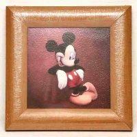 ディズニー・絵画・額入『ミッキーマウス』