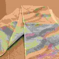 波模様・夏帯・袋帯