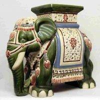 象の置物台