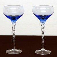 ボヘミアガラス・グラス2個セット