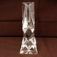 ナルミグラスワークス・ガラス花器・スペクトル・一輪挿し花瓶