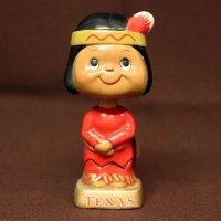 首ふり人形・インディアン・テキサス
