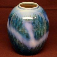 九谷焼・青良窯・花瓶・花器