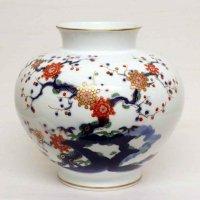 有田焼・深川製・花瓶・花器