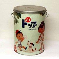 昭和レトロ・ライオン・ハイトップ・洗剤・缶