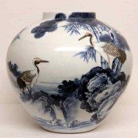 山徳窯・花瓶・花器
